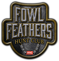 "Picture of 6"" Fowl Feathers Logo Decal"