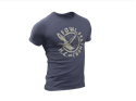 Picture of Fowl Feathers Anvil Tri-Blend T-Shirt - Heather Navy